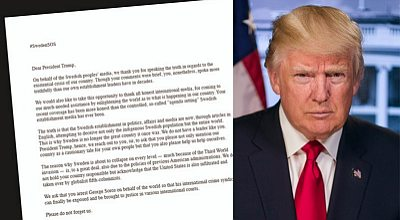 An Open Letter to President Trump From Sweden | Gates of Vienna
